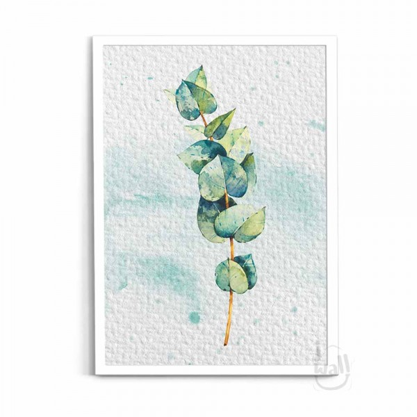 WPO1911137 - WALL POSTER SET WATERCOLOR EUCALYPTUS